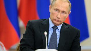 Le président russe, Vladimir Poutine, le 17 septembre 2015 à Sotchi (Russie). (MICHAEL KLIMENTYEV / RIA NOVOSTI / AFP)