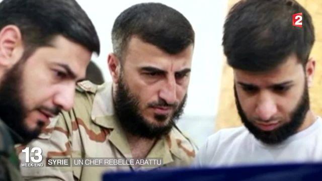 Syrie : Zahrane Allouche, chef d'un important groupe de rebelles, est mort
