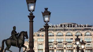 La façade de la Samaritaine, à Paris, le 16 février 2010. (LOIC VENANCE / AFP)