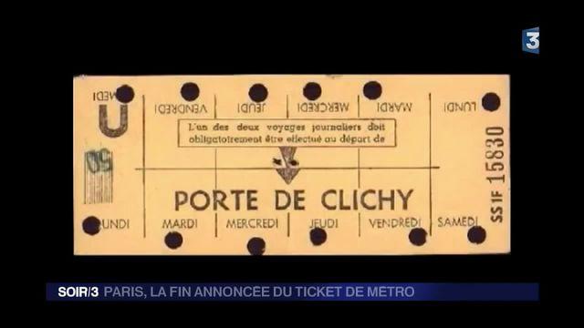 métro ticket
