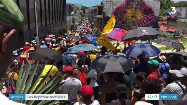 Antilles : les hopitaux sous perfusion