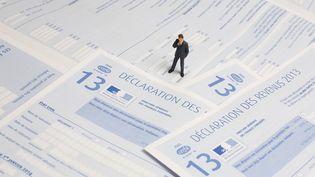 Des déclarations de revenus pour l'année 2013. (MAXPPP)