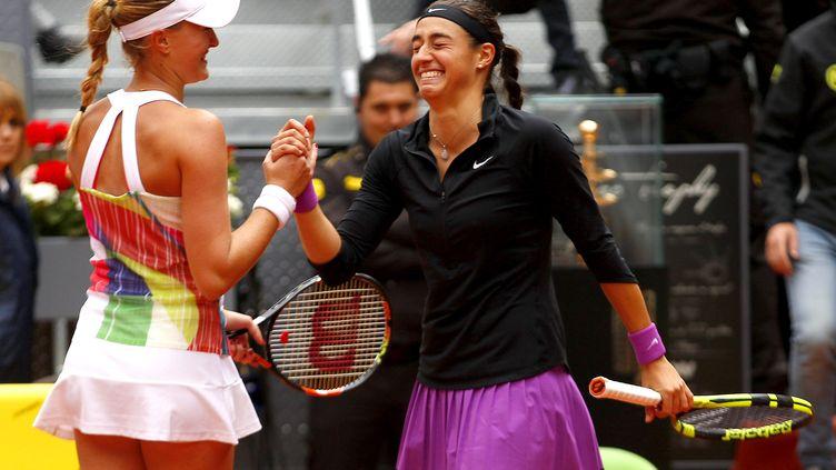 Les joueuses tricolores Kristina Mladenovic et Caroline Garcia (ELLA LING / BACKPAGE IMAGES LTD)