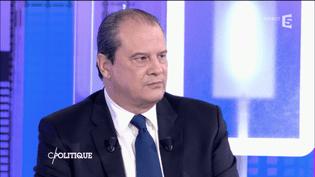 Le premier secrétaire du PS, Jean-Christophe Cambadélis, sur France 5, le 27 mars 2016. (FRANCE 5)