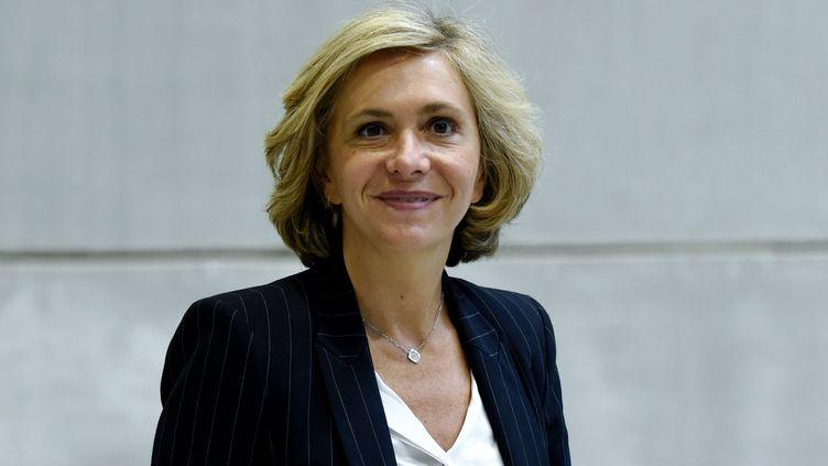 Valérie Pécresse, présidente de la région Île-de-France, 13 juin 2019. (ERIC PIERMONT / AFP)