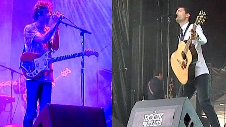 """MGMT et Gaspard Royant au festival """"Le rock dans tous ses états 2014""""  (France3/Culturebox)"""