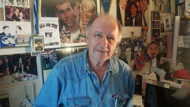 L'élimination de l'équipe de France par la Bulgarie avant le Mondial 1994 reste l'un des pires souvenirs de la carrière de Jean-Pierre Paoli, à l'époque speaker du Parc des Princes. (SEBASTIEN HAZARD / RADIO FRANCE)