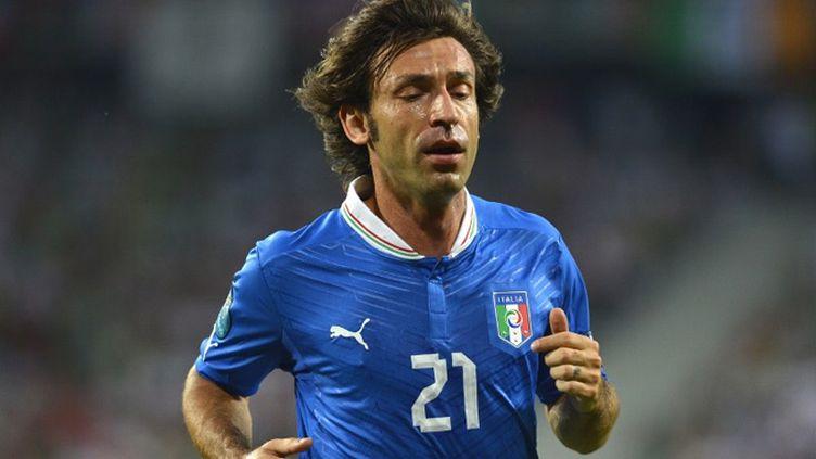 Le joueur italien Andrea Pirlo