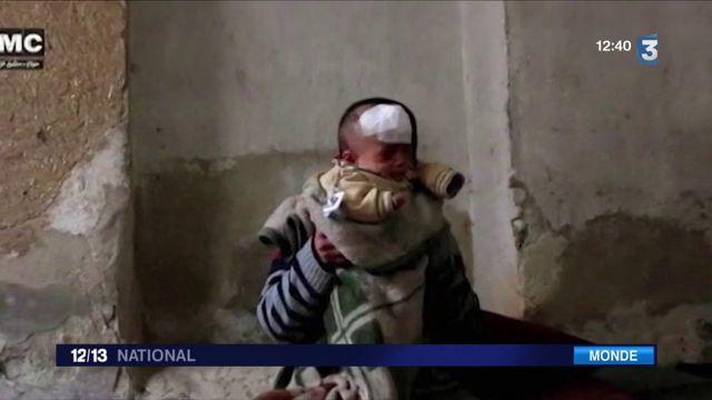 Syrie : émoi autour d'un bébé rescapé des bombardements