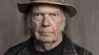 Le guitariste et chanteur canadien Neil Young, le 9 septembre 2019 à Santa Monica (Californie, Etats-Unis). (REBECCA CABAGE/AP/SIPA / SIPA)