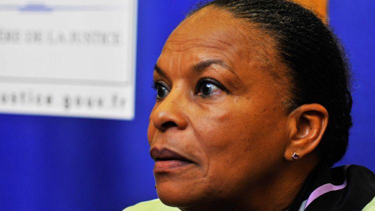 (Selon Christiane Taubira, il n'y aura pas d'extension de la déchéance de nationalité dans la réforme constitutionnelle © MAXPPP)