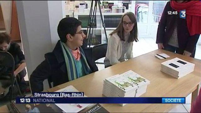 Strasbourg : Amir Fehri, écrivain à 13 ans