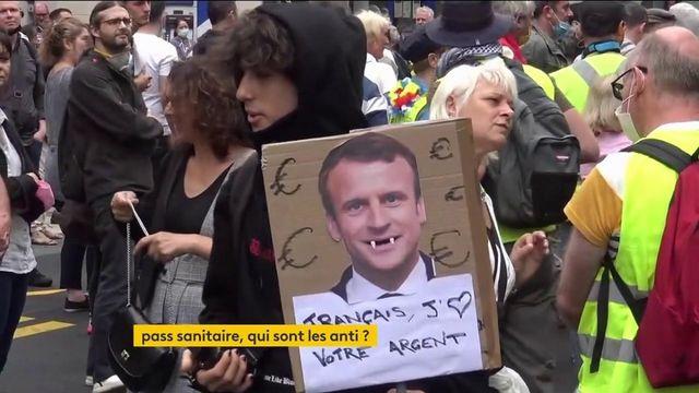 Pass sanitaire : de nouveaux rassemblements de protestation organisés dans plusieurs villes de France