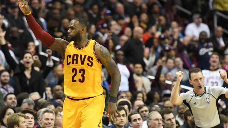 Avec 32 points et 17 passes décisives, LeBron James a été décisif face à Washington (? USA TODAY SPORTS / REUTERS / X02835)