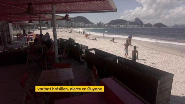 Covid-19 : avec le variant brésilien, l'inquiétude est grande en Guyane
