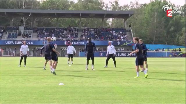 Euro 2016 : dernier entrainement public pour les Bleus