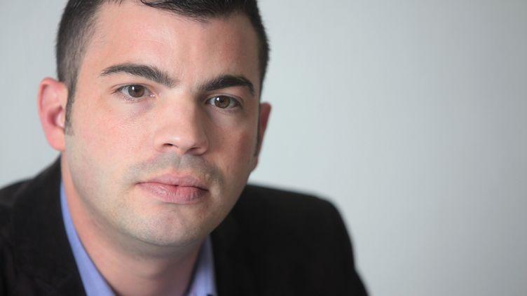 Fabien Engelmann, maire FN de Hayange (Moselle), le 3 octobre 2014. (  MAXPPP)