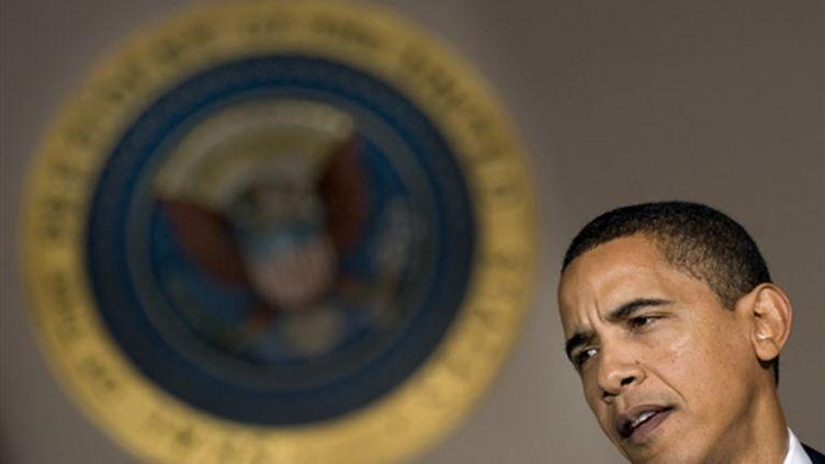 Barack Obama le 3 février 2009 (© AFP - Jim Watson)