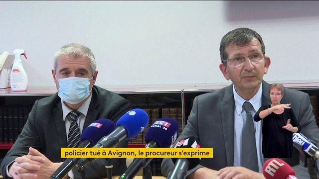 Policier tué à Avignon : le procureur s'exprime