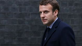 Emmanuel Macron a une bonne étoile, au moins pour son début de mandat. (DANIEL LEAL-OLIVAS / AFP)