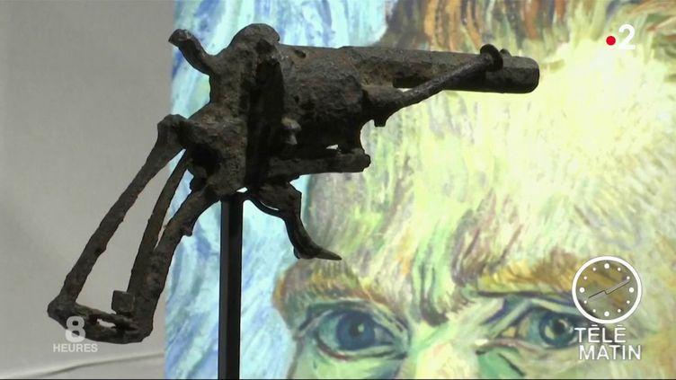 Le revolver qui aurait tué Van Gogh vendu aux enchères (France 2)