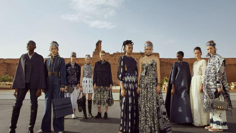 Collection Dior croisière 2020 à Marrakech, le 29 avril 2019 (NADINE IJEWERE FOR DIOR)