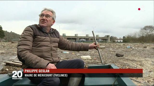 Inondations : Méricourt sous une marée de déchets après la crue