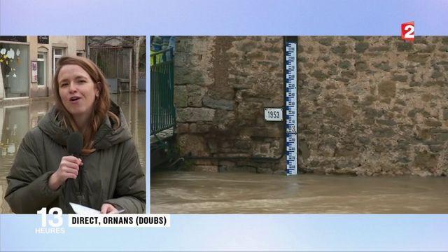 Inondations dans le Doubs : quelle situation à Ornans ce mardi ?