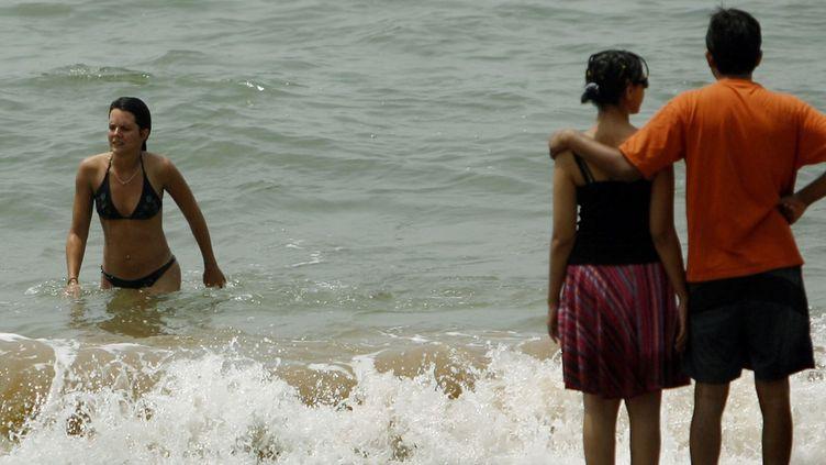Les femmes ne doivent pas porter de jupe et sortir seule la nuit dans les petites villes a déclaré le ministre du tourisme indien. Une mesure censée les protéger d'actes de harcèlement ou de viol. Des propos qui ont provoqué un tollé en Inde et dans le monde. (REUTERS / Punit Paranjpe)