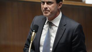 Manuel Valls, le ministre de l'Intérieur, le 16 juillet 2013 à l'Assemblée nationale. (MARTIN BUREAU / AFP)