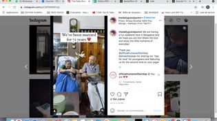 Capture d'écran du compte Instagram The Daily Grandparent (CAPTURE D'ECRAN/INSTAGRAM)