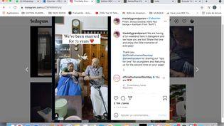 Capture d'écran du compte Instagram The Daily Grandparent (CAPTURE D'ECRAN/INSTAGRAM)
