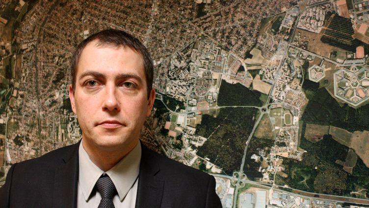 David Derrouet, maire deFleury-Mérogis (Essonne), le 27 décembre 2011. (MAXPPP)
