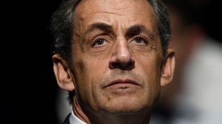 L'ancien président de la République Nicolas Sarkozy, le 1er octobre 2016 aux Sables-d'Olonne (Vendée). (JEAN-FRANCOIS MONIER / AFP)
