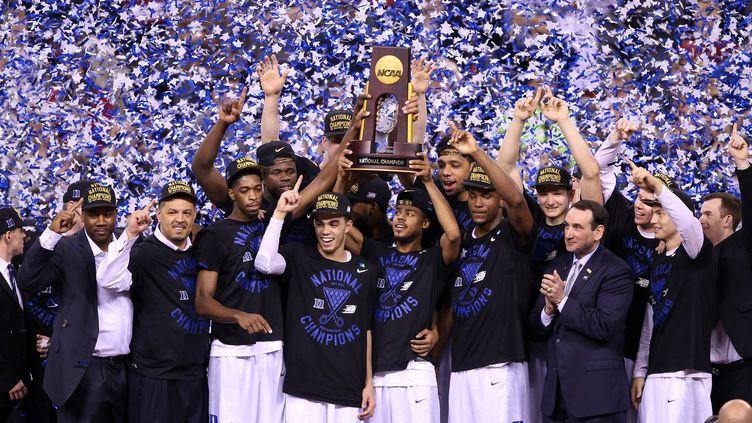 Duke est champion NCAA (JOE ROBBINS / GETTY IMAGES NORTH AMERICA)