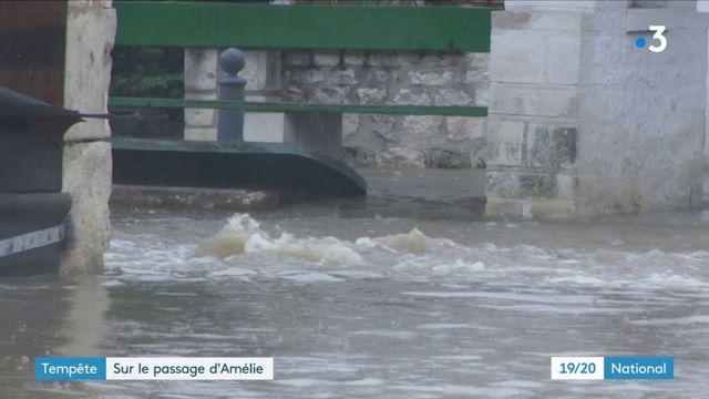 Tempête Amélie : de nombreux dégâts à déplorer