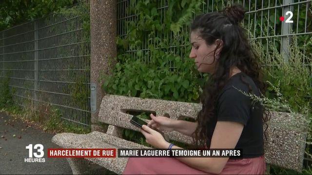 VIDEO. Harcèlement de rue : un an après son agression, Marie Laguerre témoigne