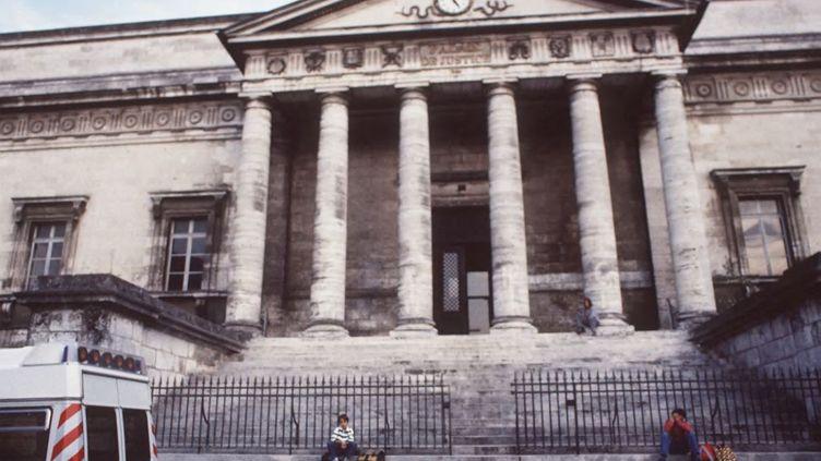 L'entrée du tribunal d'Angoulême, en Charente. (MAXPPP)