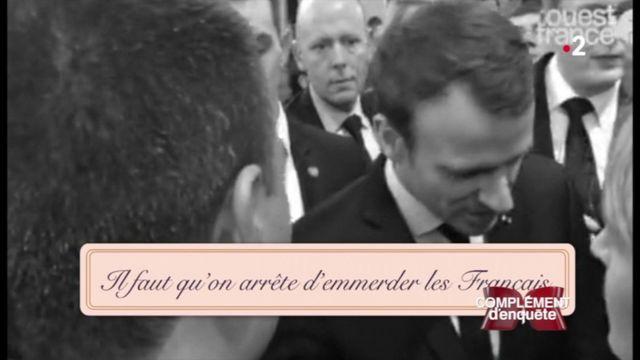 """Complément d'enquête. """"Il faut qu'on arrête d'emmerder les Français"""" ou de les """"saouler"""".... le lobby du vin a l'oreille du président Macron"""