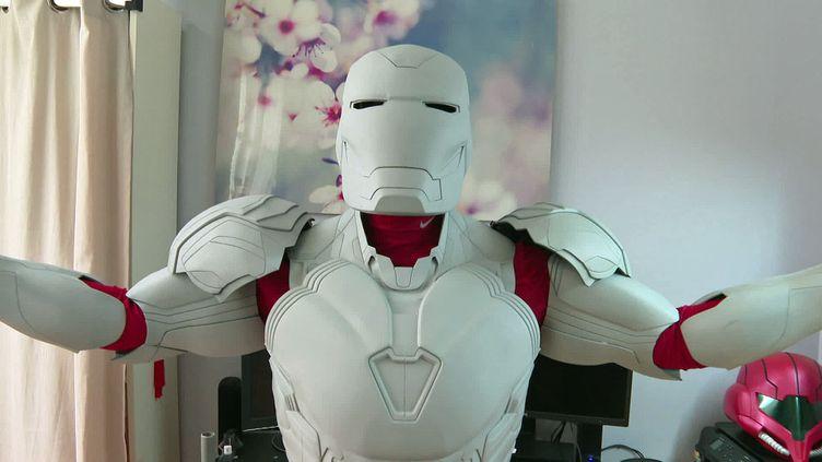 A Poitiers, un ingénieur en éléctromécanique crée l'armure d'Iron Man (France 3 Nouvelle Aquitaine)