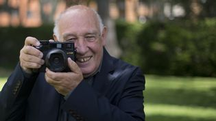Raymond Depardon à Bogota, en Colombie, le 25 juillet 2014.  (EITAN ABRAMOVICH / AFP)