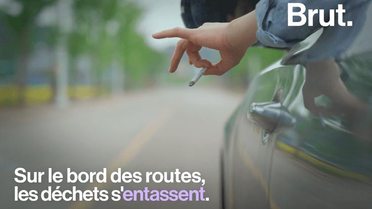 VIDEO. En France, les déchets ne cessent de s'entasser aux bords des routes (BRUT)