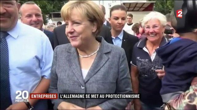 Entreprises: l'Allemagne se met au protectionnisme