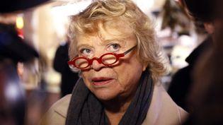 La candidate d'EE-LV à la présidentielle Eva Joly, à Paris, le 20 décembre 2011. (THOMAS SAMSON / AFP)