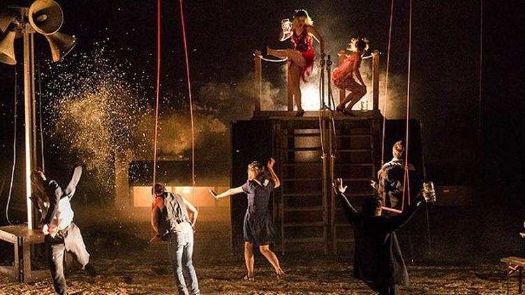 """""""Casimir et Caroline""""par la compagnie Que Mas de LéaChanceaulme au théâtre du Gymnase  (Raphael Arnaud )"""