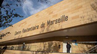 Le centre pénitentiaire des Baumettes, à Marseille (Bouches-du-Rhône), le 26 octobre 2018. (CHRISTOPHE SIMON / AFP)