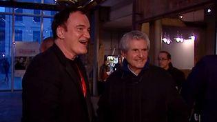 Quentin Tarantino et Claude Lelouch  (France3/culturebox)