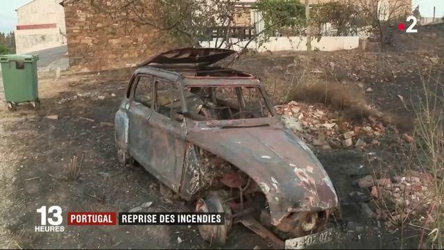 Incendies au Portugal : les feux ont repris dans le centre du pays