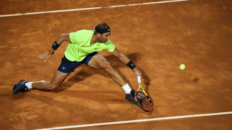 Rafael Nadal à l'occasion de l'ATP 500 d'Hambourg. (CLIVE BRUNSKILL / POOL)