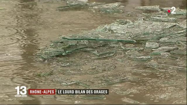 Intempéries : pluie de grêle catastrophique en Auvergne-Rhône-Alpes